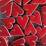 MV% Ceramic Design cuore rosso
