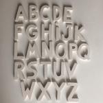 Lettera da appendere MV% Ceramic Design