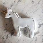 Unicorno in ceramica MV% Ceramic Design
